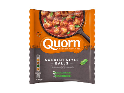 Quorn Meat Free Swedish Style Meatballs
