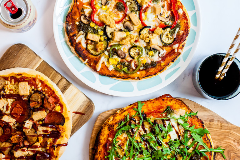 Pizza Party Day, the Meat Free Way!