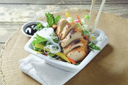 Grilla asiatisk Quorn BBQ -recept