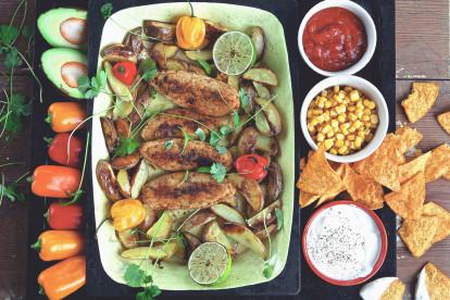 Vegetariska tacofiléer