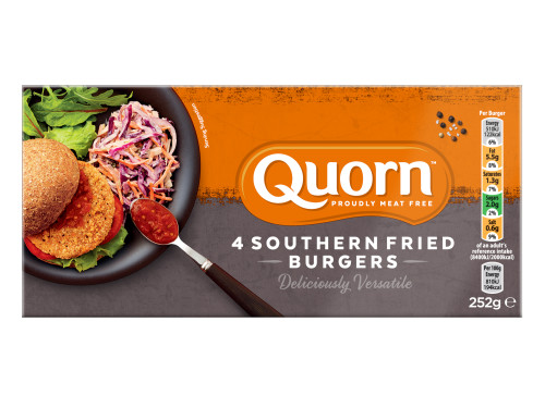 Quorn Meat Free Southern Fried Burgers