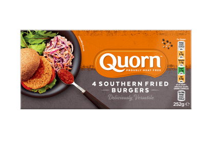 Quorn Southern Fried Burgers