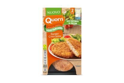 Burger croccante Quorn vegetariano