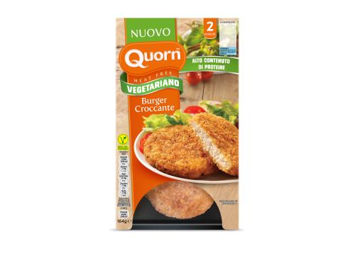 Burger croccanti Quorn vegetariani