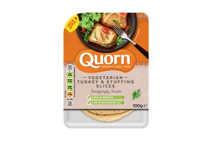 Quorn Vegetarian Turkey & Stuffing Slices