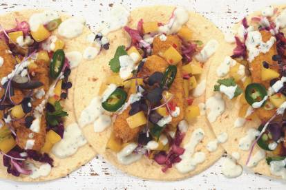 Quorn Vegan Sunshine Fish Free Finger Tacos