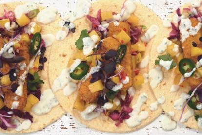 Quorn Vegan Sunshine Fish Free Finger Tacos
