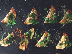 Vegetarian Mini Pierogi