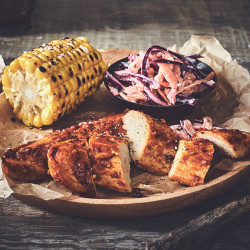 Peri Peri Fillets with Homemade Slaw
