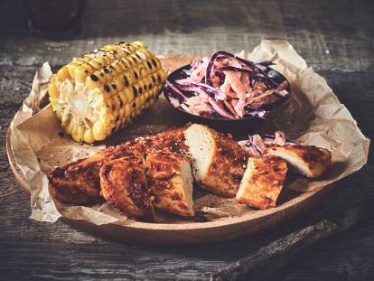 Piri Piri Fillets with Homemade Slaw