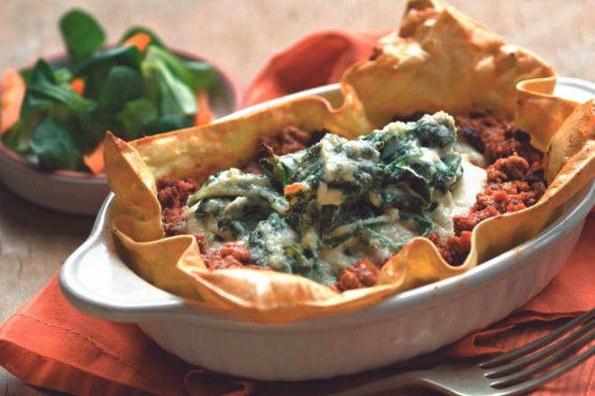 Quorn Meat Free Open Lasagne