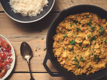 Quorn Pieces Curry