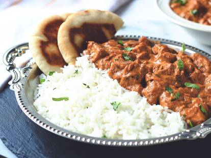 Quorn Vegan Butter Chickenless Masala