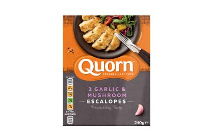 Quorn Garlic & Mushroom Escalopes