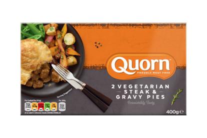 Quorn Steak & Gravy Pies