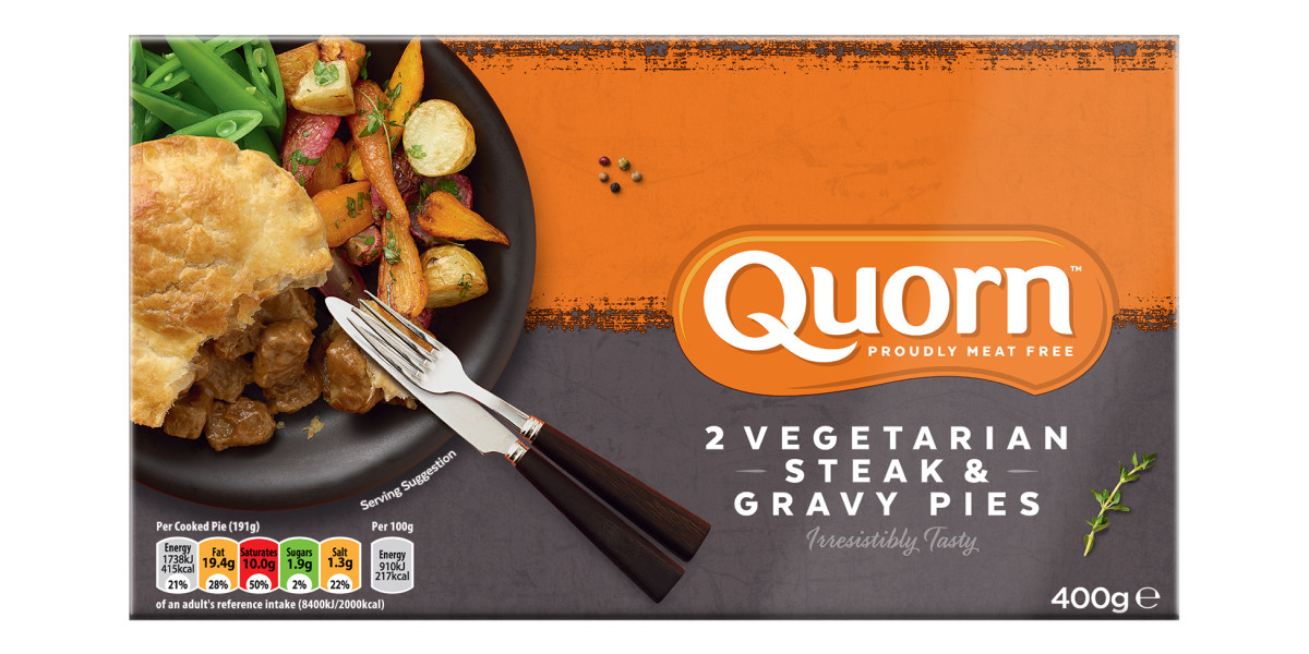 Steak & Gravy Pies - Vegetarian Food and Dinner Ideas | Quorn