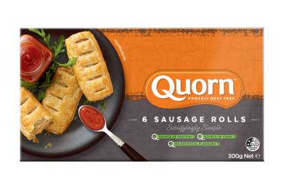 meat free quorn sausage roll
