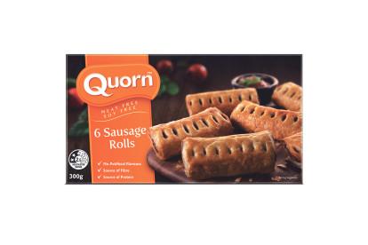 Quorn Sausage Rolls 300g (6 sausage rolls)