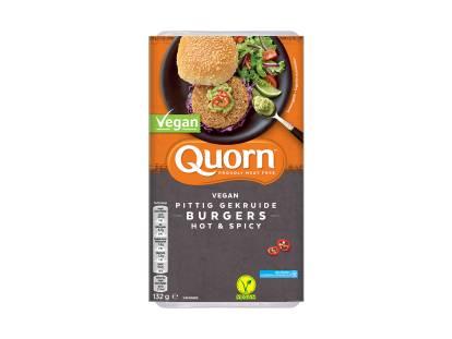 Quorn Vegan Pittig Gekruide Burgers