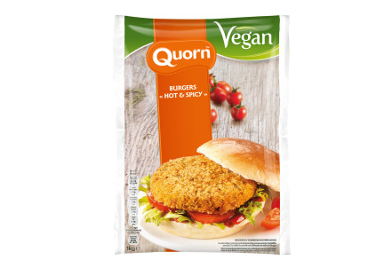 Quorn Burgers Hot and Spicy