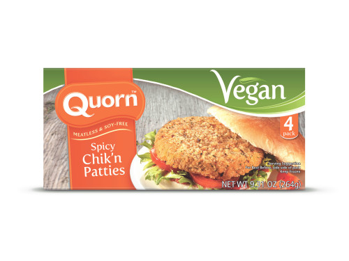 Vegan Spicy Chicken Patty