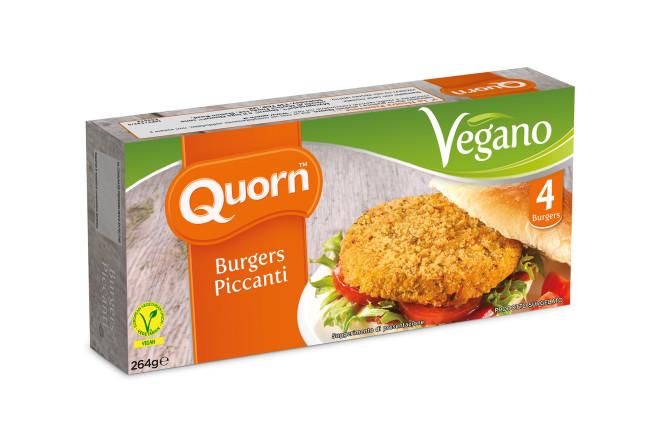 Burger Piccanti Vegani
