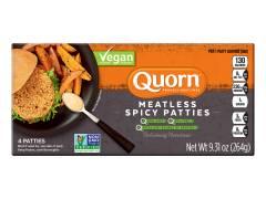Quorn Vegan Meatless Spicy Patties