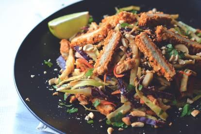 Quorn Spicy Chopped Thai Salad