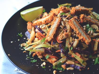 Quorn Spicy Chopped Thai Salad
