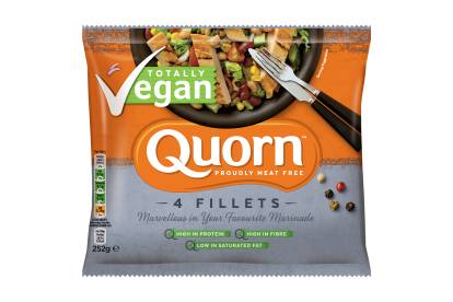 frozen quorn vegan fillets