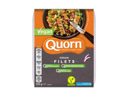 Quorn vegan filets