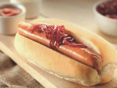 quorn hot dogs with fried onions vegetarian recipe