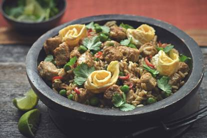 quorn pieces nasi goreng vegetarian recipe