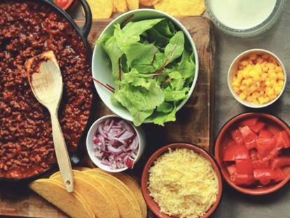 Tacofärs -recept