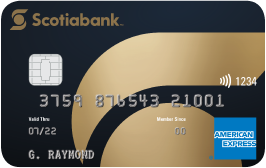 Scotiabank®* Gold American Express®Card