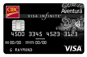 CIBC Aventura® Visa Infinite™ Credit Card