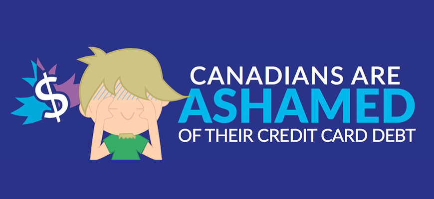 Credit Card Bills Causing Shame for Canadians