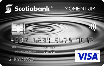 Scotia Momentum®No-Fee Visa*