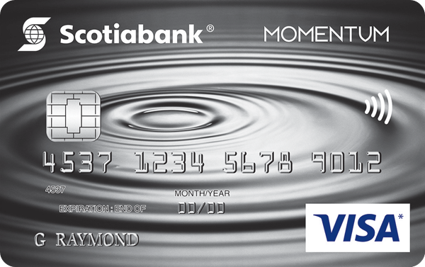 Scotia Momentum® No-Fee Visa*
