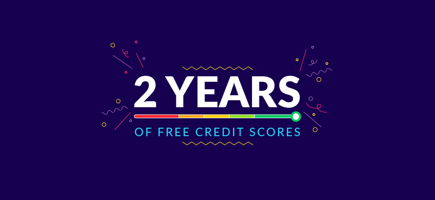 It's Been Two Years Of Free Credit Scores!