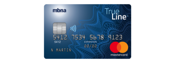 MBNA True Line® Gold Mastercard