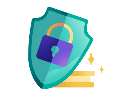 Borrowell is Secure graphic