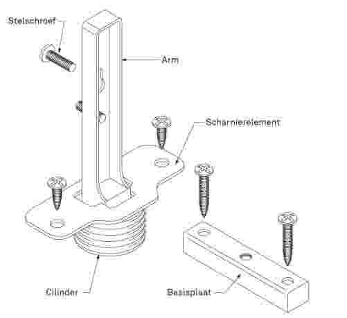 Super Keukenkast scharnieren monteren | KARWEI XU73
