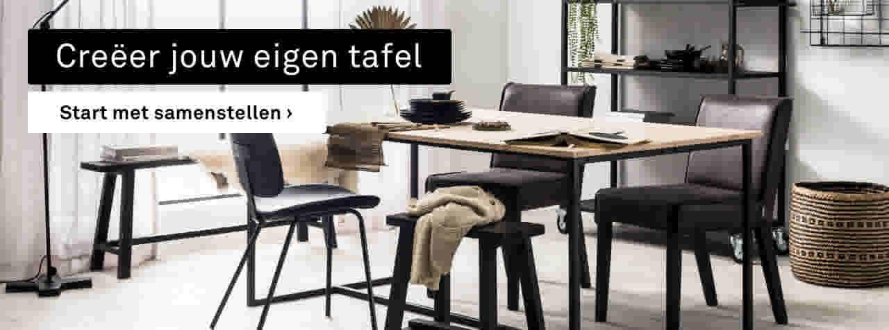 Grijze Vierkante Eettafel.Karwei Tafel Kopen Grote En Kleine Tafels
