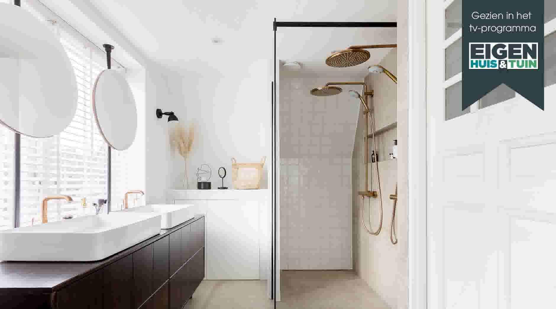 Bekijk de make over uit eigen huis & tuin van de badkamer in
