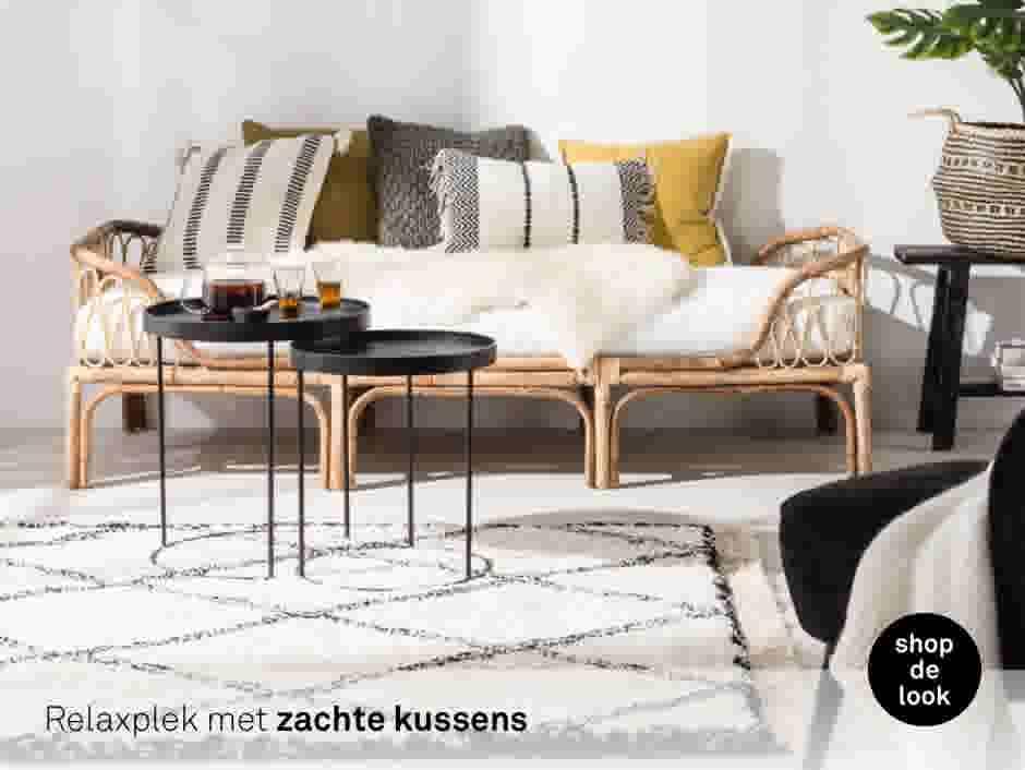 Style today; Wonen doe je zo! Laat je inspireren voor je woonkamer.