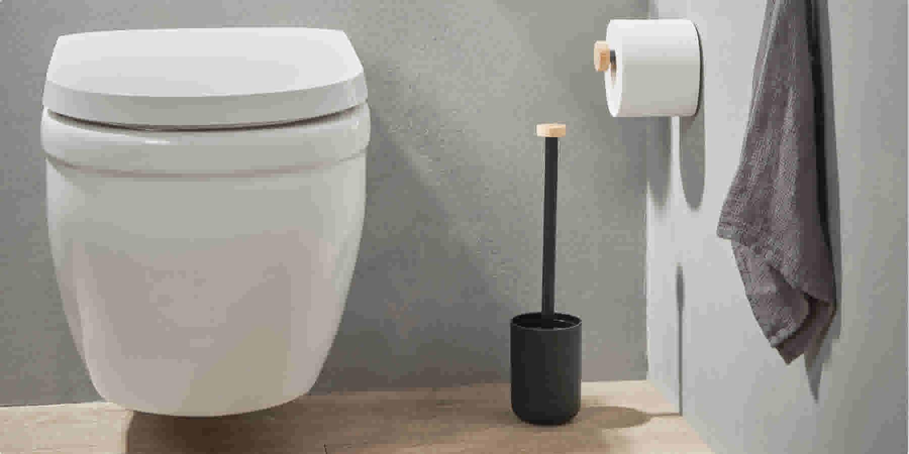 In Het Toilet.Toilet Ideeen Geef Het Kleinste Kamertje Een Kleurrijke Boost