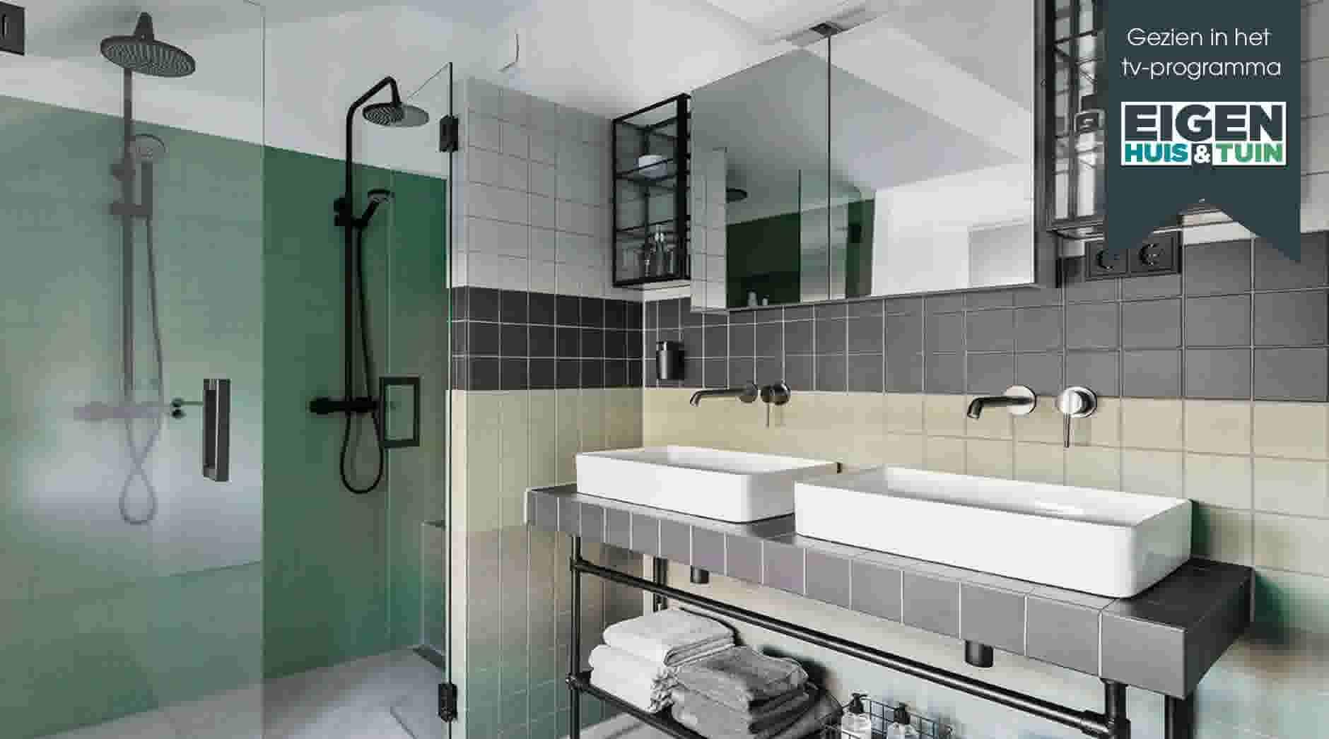 f88a9934dfe Bekijk de make-over uit Eigen Huis & Tuin van de retro badkamer in ...