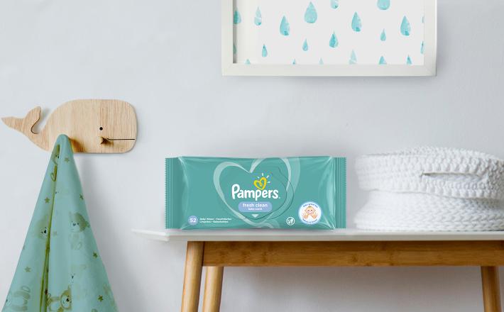Dětské čisticí ubrousky Pampers Baby Fresh Clean