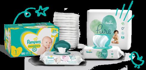 Pampers produkty pro kojence